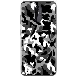 Funda Gel Tpu para Nokia 3.2 diseño Snow Camuflaje Dibujos
