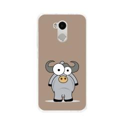 Funda Gel Tpu para Xiaomi Redmi 4 Pro Diseño Toro Dibujos
