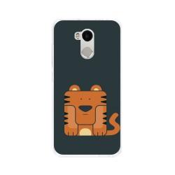 Funda Gel Tpu para Xiaomi Redmi 4 Pro Diseño Tigre Dibujos
