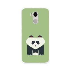 Funda Gel Tpu para Xiaomi Redmi 4 Pro Diseño Panda Dibujos
