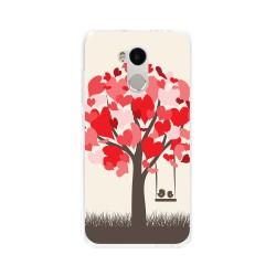 Funda Gel Tpu para Xiaomi Redmi 4 Pro Diseño Pajaritos Dibujos