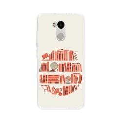 Funda Gel Tpu para Xiaomi Redmi 4 Pro Diseño Mundo-Libro Dibujos