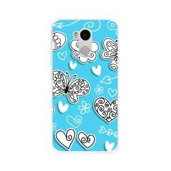 Funda Gel Tpu para Xiaomi Redmi 4 Pro Diseño Mariposas Dibujos