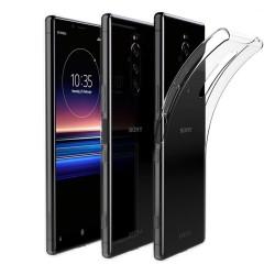Funda Gel Tpu Fina Ultra-Thin 0,5mm Transparente para Sony Xperia 1