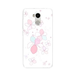 Funda Gel Tpu para Xiaomi Redmi 4 Pro Diseño Flores-Minimal Dibujos