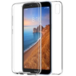 Funda Completa Transparente Pc + Tpu Full Body 360 para Xiaomi Redmi 7A