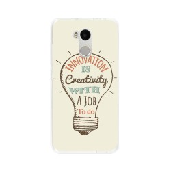 Funda Gel Tpu para Xiaomi Redmi 4 Pro Diseño Creativity Dibujos