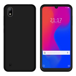 Funda Gel Tpu para ZTE Blade A7 2019 Color Negra