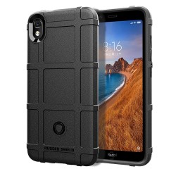 Funda Armor Rugged Shield Antigolpes para Xiaomi Redmi 7A color Negra