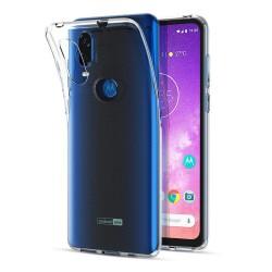 Funda Gel Tpu Fina Ultra-Thin 0,5mm Transparente para Motorola One Vision