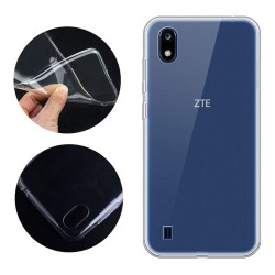 Funda Gel Tpu Fina Ultra-Thin 0,5mm Transparente para ZTE Blade A7 2019