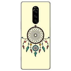 Funda Gel Tpu para Sony Xperia 1 diseño Atrapasueños Dibujos