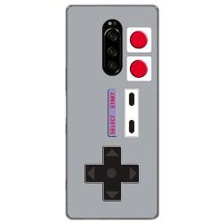 Funda Gel Tpu para Sony Xperia 1 diseño Consola Dibujos