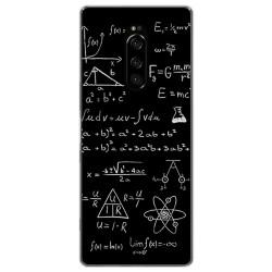 Funda Gel Tpu para Sony Xperia 1 diseño Formulas Dibujos