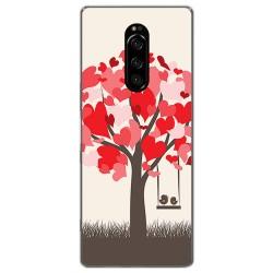 Funda Gel Tpu para Sony Xperia 1 diseño Pajaritos Dibujos