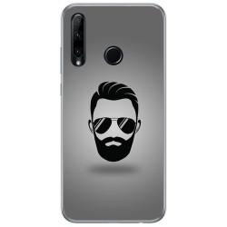 Funda Gel Tpu para Huawei Honor 20 Lite diseño Barba Dibujos