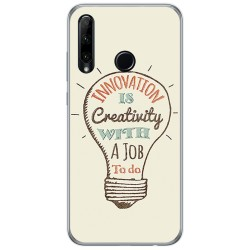 Funda Gel Tpu para Huawei Honor 20 Lite diseño Creativity Dibujos