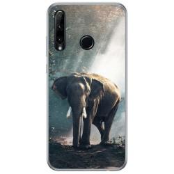 Funda Gel Tpu para Huawei Honor 20 Lite diseño Elefante Dibujos