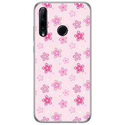 Funda Gel Tpu para Huawei Honor 20 Lite diseño Flores Dibujos