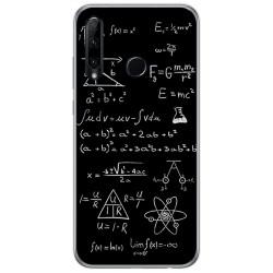 Funda Gel Tpu para Huawei Honor 20 Lite diseño Formulas Dibujos