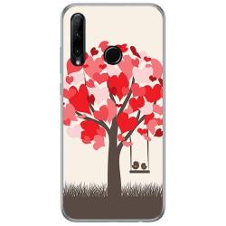 Funda Gel Tpu para Huawei Honor 20 Lite diseño Pajaritos Dibujos