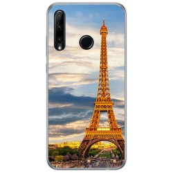Funda Gel Tpu para Huawei Honor 20 Lite diseño Paris Dibujos