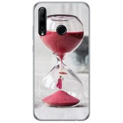 Funda Gel Tpu para Huawei Honor 20 Lite diseño Reloj Dibujos