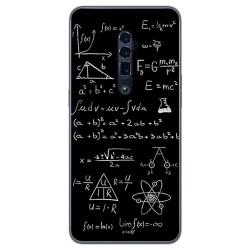 Funda Gel Tpu para Oppo Reno 10x Zoom diseño Formulas Dibujos