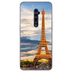 Funda Gel Tpu para Oppo Reno 10x Zoom diseño Paris Dibujos