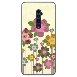 Funda Gel Tpu para Oppo Reno 10x Zoom diseño Primavera En Flor Dibujos