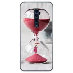 Funda Gel Tpu para Oppo Reno 10x Zoom diseño Reloj Dibujos
