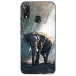Funda Gel Tpu para Zte Blade V10 vita / Orange Neva Play diseño Elefante Dibujos
