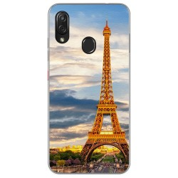 Funda Gel Tpu para Zte Blade V10 vita / Orange Neva Play diseño Paris Dibujos