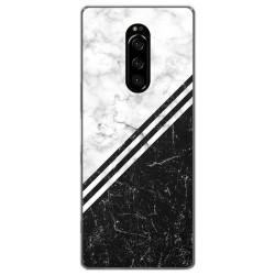 Funda Gel Tpu para Sony Xperia 1 diseño Mármol 01 Dibujos