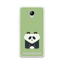 Funda Gel Tpu para Lenovo Moto C2 Diseño Panda Dibujos