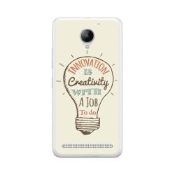 Funda Gel Tpu para Lenovo Moto C2 Diseño Creativity Dibujos