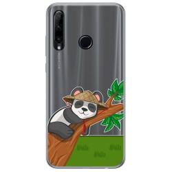 Funda Gel Transparente para Huawei Honor 20 Lite diseño Panda Dibujos