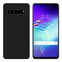 Funda Gel Tpu para Samsung Galaxy S10 5G Color Negra