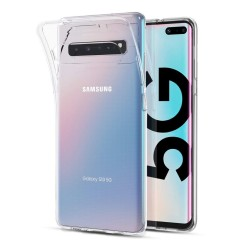 Funda Gel Tpu Fina Ultra-Thin 0,5mm Transparente para Samsung Galaxy S10 5G