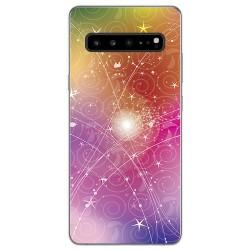 Funda Gel Tpu para Samsung Galaxy S10 5G diseño Abstracto Dibujos
