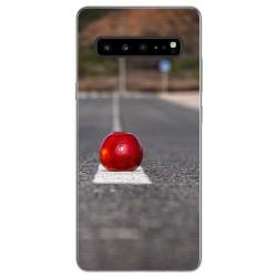 Funda Gel Tpu para Samsung Galaxy S10 5G diseño Apple Dibujos