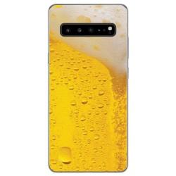 Funda Gel Tpu para Samsung Galaxy S10 5G diseño Cerveza Dibujos