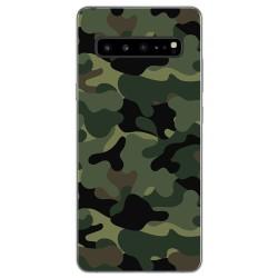 Funda Gel Tpu para Samsung Galaxy S10 5G diseño Camuflaje Dibujos
