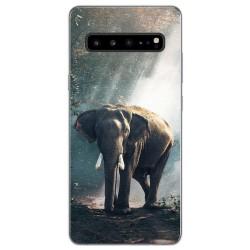 Funda Gel Tpu para Samsung Galaxy S10 5G diseño Elefante Dibujos