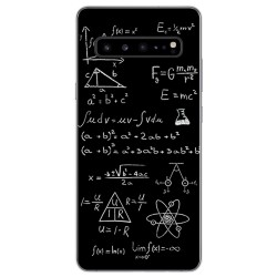 Funda Gel Tpu para Samsung Galaxy S10 5G diseño Formulas Dibujos