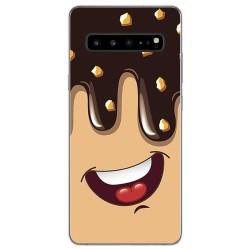 Funda Gel Tpu para Samsung Galaxy S10 5G diseño Helado Chocolate Dibujos