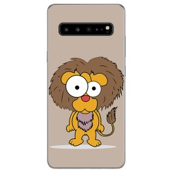 Funda Gel Tpu para Samsung Galaxy S10 5G diseño Leon Dibujos