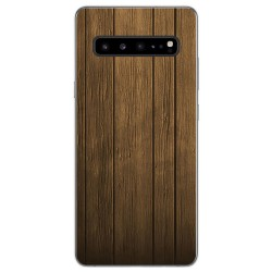 Funda Gel Tpu para Samsung Galaxy S10 5G diseño Madera Dibujos