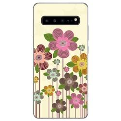 Funda Gel Tpu para Samsung Galaxy S10 5G diseño Primavera En Flor Dibujos