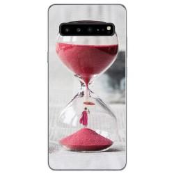 Funda Gel Tpu para Samsung Galaxy S10 5G diseño Reloj Dibujos
